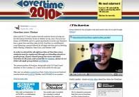 Overtime 2010 webpage