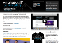 Transform Schools Week webpage