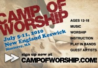 Camp of Worship ad