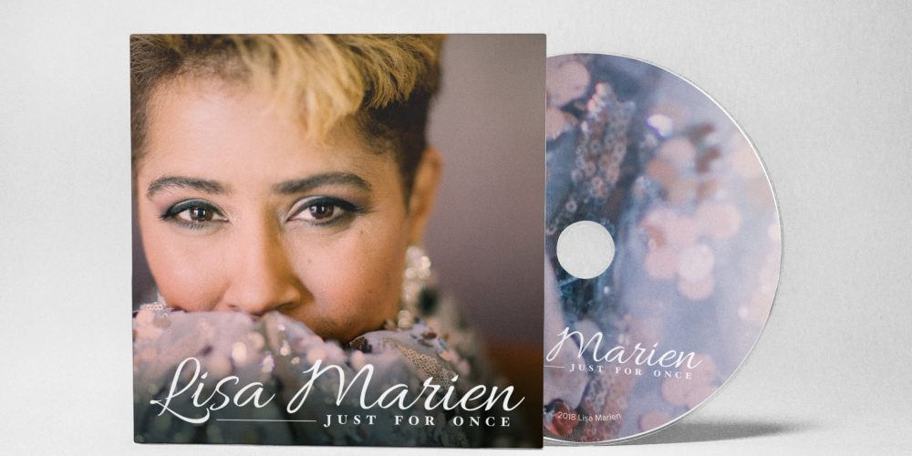 Lisa Marien - Just For Once Album Design